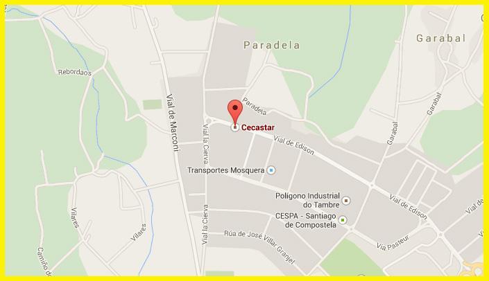 Localización De Una Casa En El Mapa: Mapa